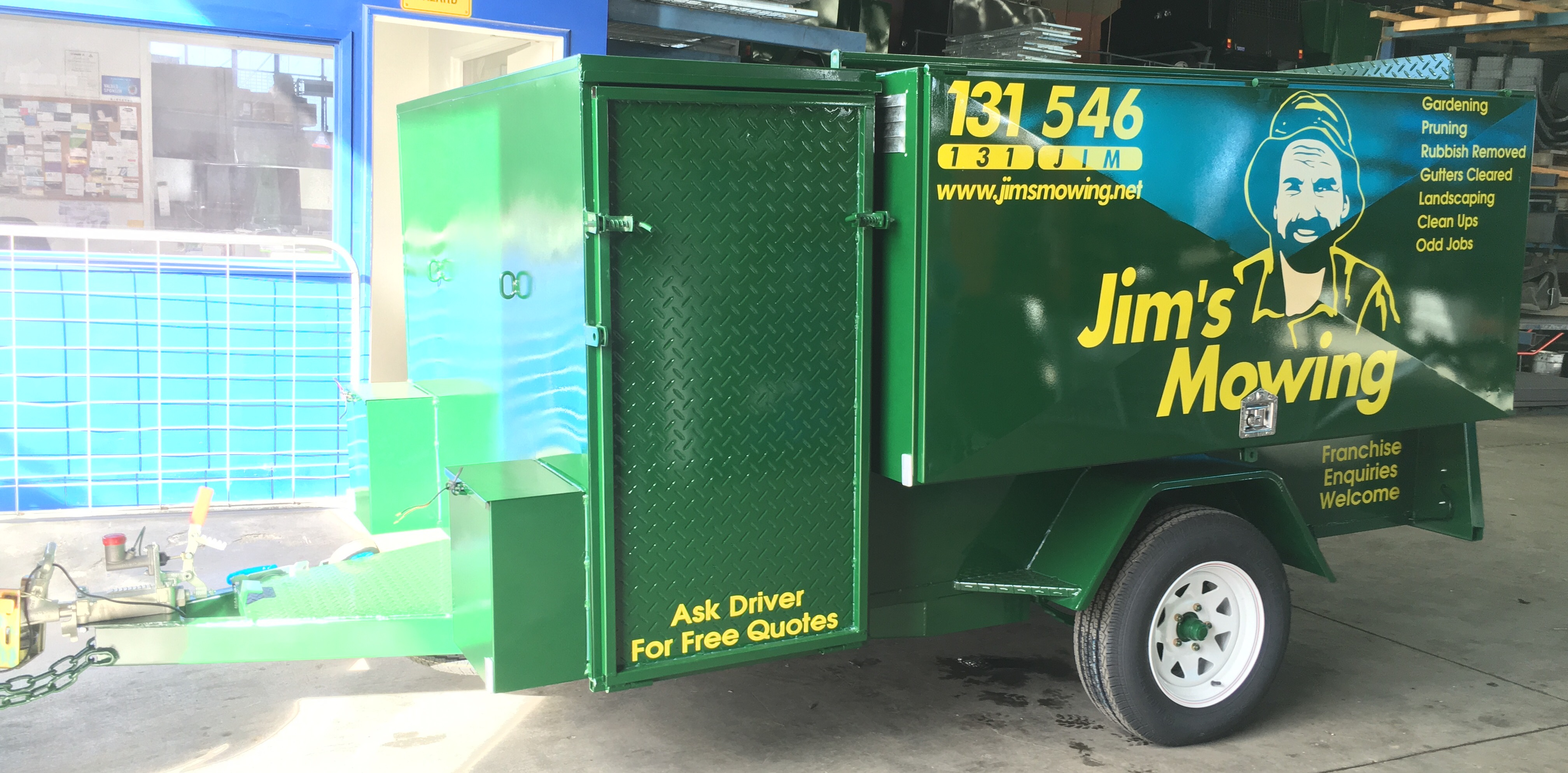 Jims Mowing Trailers